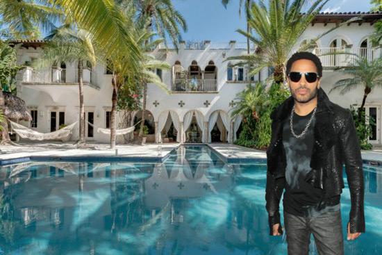 Lenni Kravitz's Miami Villa