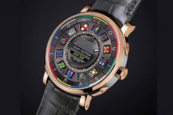 Louis Vuitton Escale Spin Time Watch