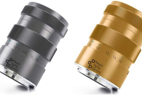 Meyer-Optik-Göerlitz's New Titanium And Gold Camera Lenses