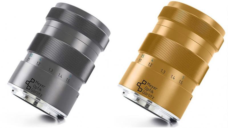 Meyer-Optik-Göerlitz's New Titanium And Gold Camera Lenses