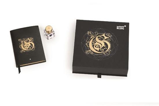 Montblanc's 24 Carat Gold Ink