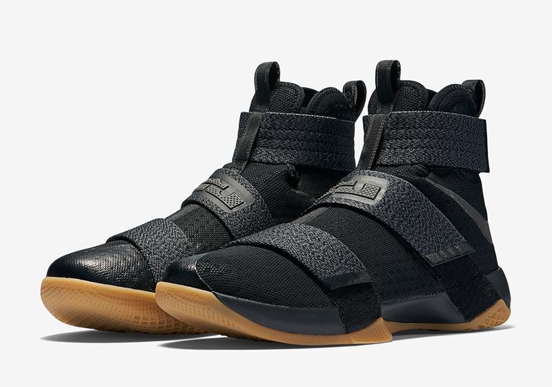 """Nike Released LeBron Soldier 10 In """"Black/Gum"""" Colorway"""