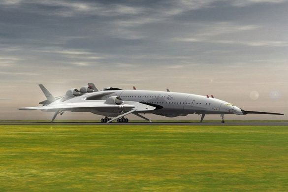 Oscar Viñals' Aircraft Could Fly From London To NYC In 2.5 Hours