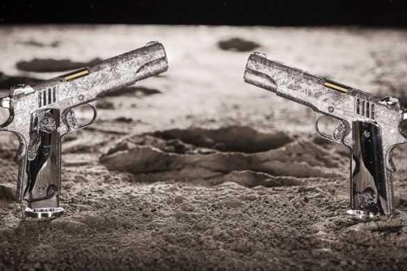$4.5 Million Big Bang Pistol Set Made Of Meteorite