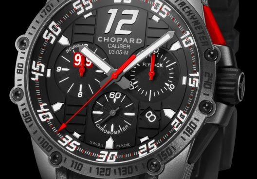 Chopard's Superfast Chrono Porsche 919 Black Edition