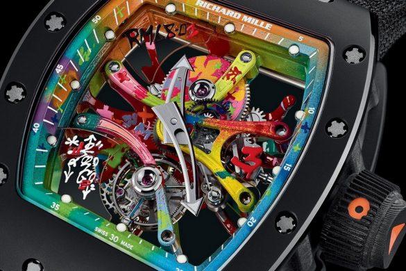 Richard Mille's RM 68-01 Tourbilion Cyril Kongo
