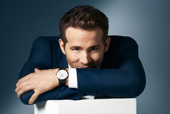 Ryan Reynolds And Piaget Watches