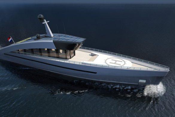 Sky Ya - New 47m Superyacht Concept