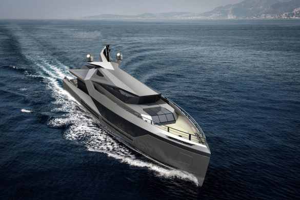 50m Stella Superyacht Concept by Red Yacht Design