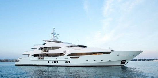 Sunseeker's Superyacht Blush On Sale