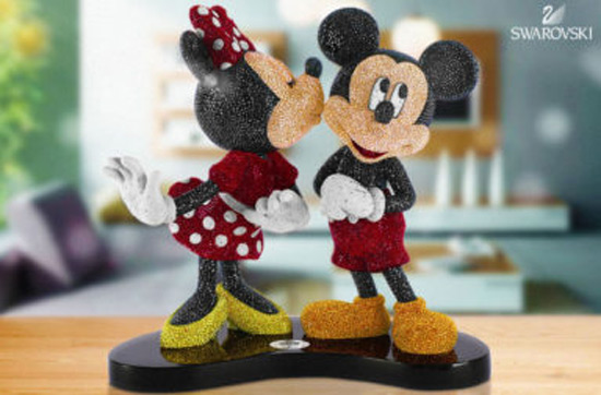 Swarovski Mickey & Minnie, Limited Edition 2016
