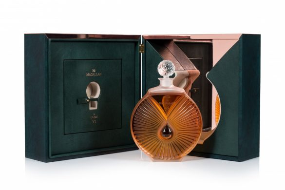 The Macallan in Lalique Peerless Spirit