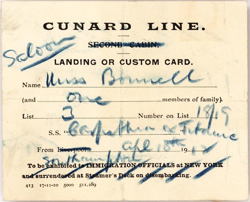 Exceedingly Rare Memorabilia About Titanic At Auction