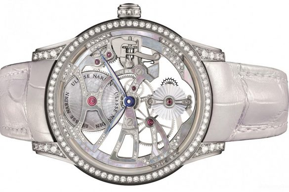 "New Limited Edition Ulysse Nardin Skeleton Tourbillon ""Pearl"""