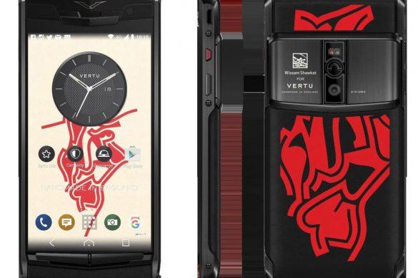 Vertu Teamed Up With Wissam Shawkat For Bespoke Phone Design
