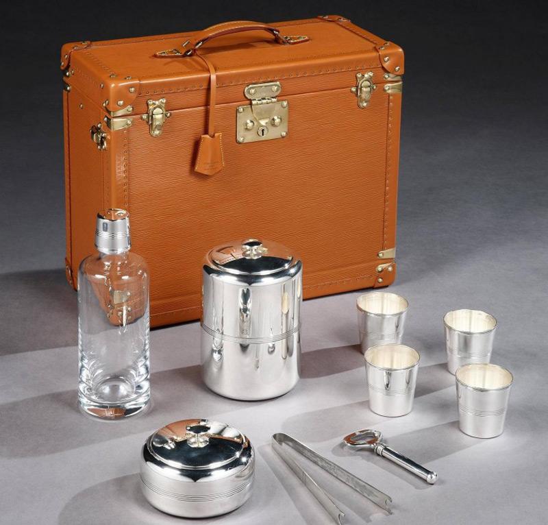 Vintage Louis Vuitton Travelling Bar