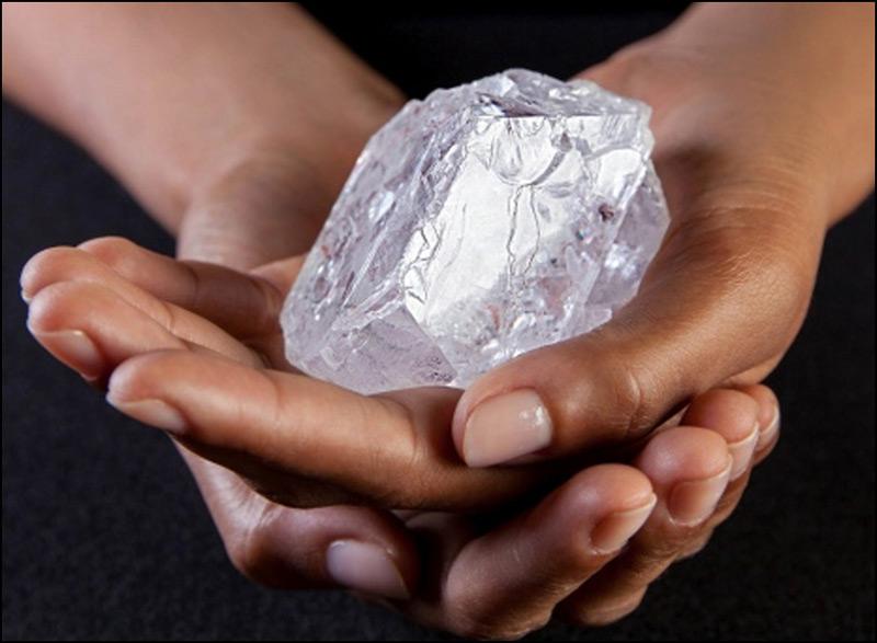 World's Largest Uncut Diamond