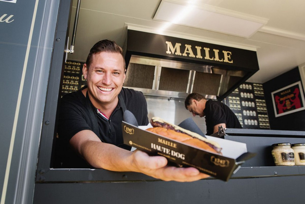 Maille Launches World's Most Expensive Hot Dog