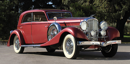 1933 Duesenberg Model J Sunroof Berline by Franay