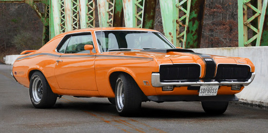 1970 Mercury Cougar Eliminator Hardtop