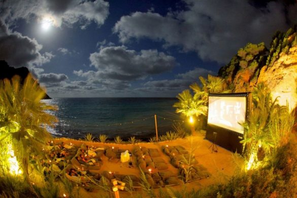 Ibiza's Amante Boasts World's Most Beautiful Open Air Cinema