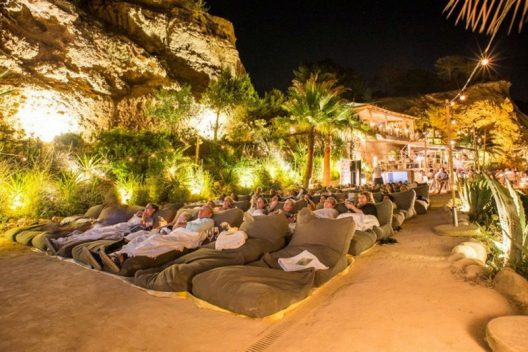 Ibiza's Amante Boasts World's Most Beautiful Open Air Cinema