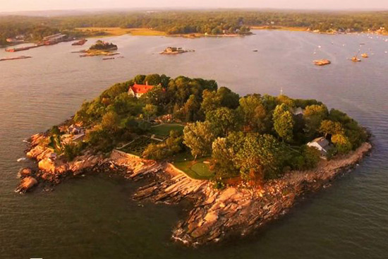 Archipelago of Eight Private Islands off the Connecticut