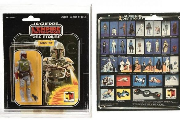 Rare Boba Fett Figure Sold For £26,040 At Auction