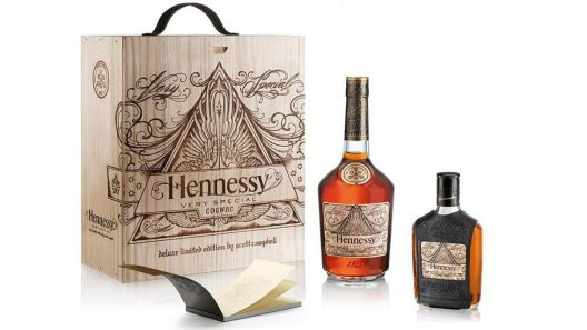 Tattoo Artist Scott Campbell Designs Hennessy Very Special Limited Edition Bottle
