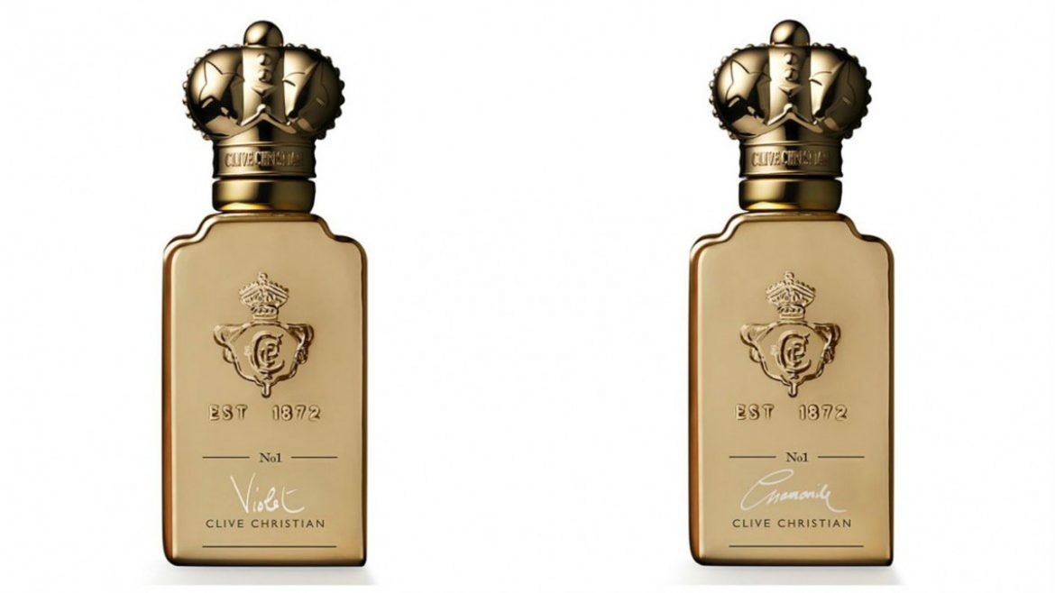 Chamomile And Violet - Clive Christian's New Twist Fragrances