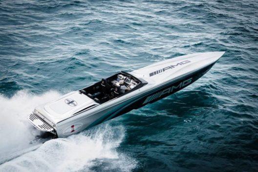 The Cigarette Racing 50 Marauder AMG Monaco Concept