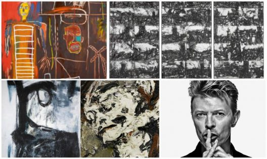 David Bowie's Personal Art Collection At Sotheby's