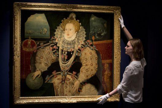 Britain Paid $13.6 Million To Keep Elizabeth I Portrait