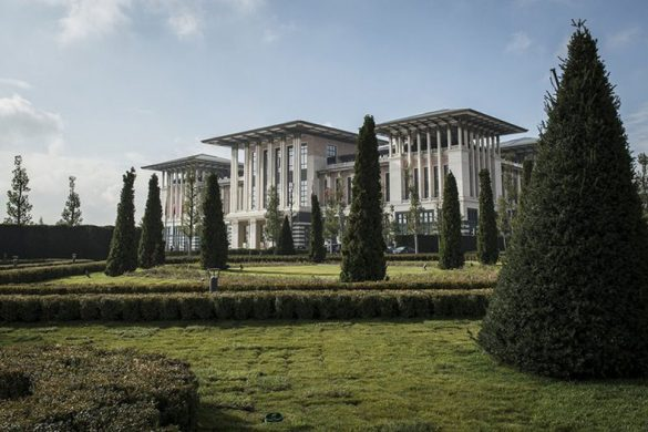 Turkey's President Erdogan Palace