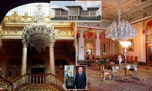 Turkey's President Erdogan Palace
