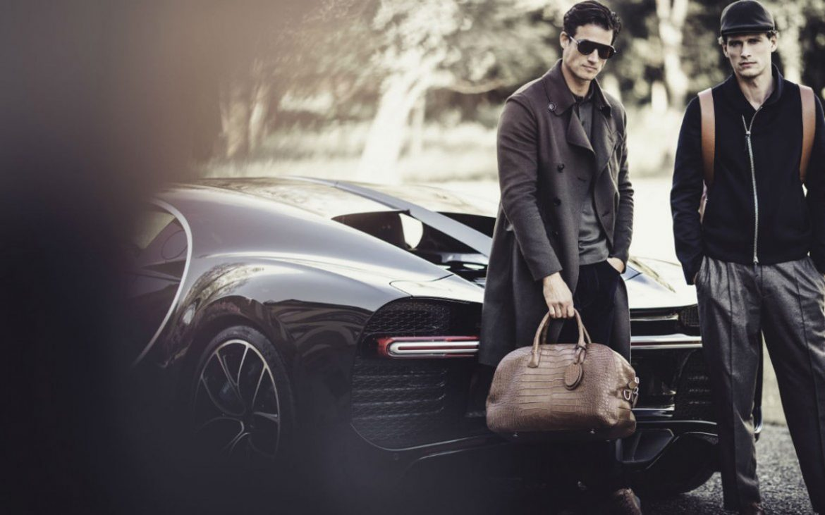 Giorgio Armani's Limited Edition Capsule Collection for Bugatti