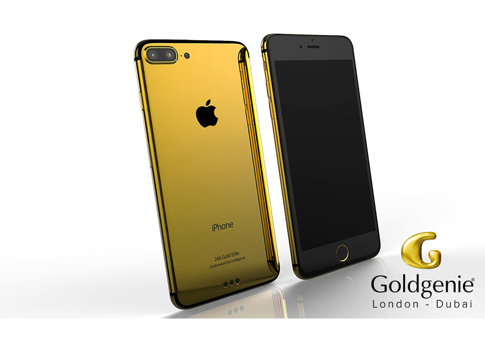 Goldgenie In China and U.A.E With Newest Luxury Customised iPhone 7