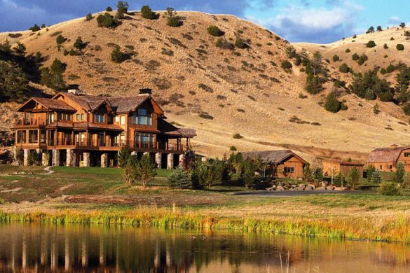 Magnificent Grey Cliffs Ranch, Madison Valley