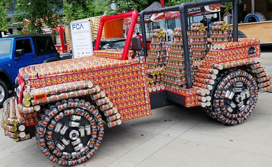 Jeep Of Cans