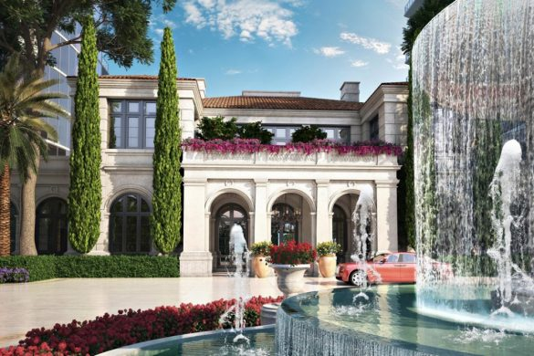 Karl Lagerfeld Will Design Two Lobbies Of The Estates at Acqualina
