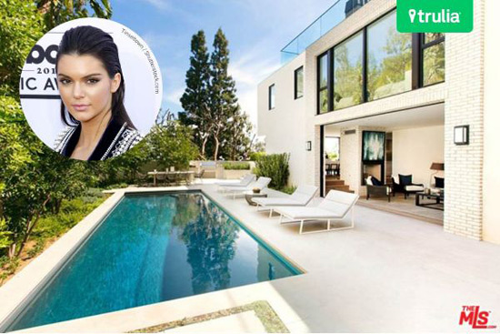 Kendall Jenner First Luxury Villa