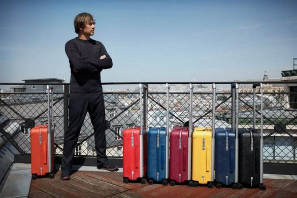 New Louis Vuitton's Rolling Trunks By Marc Newson