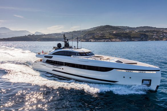 Columbus Yachts' Divine Debuts Monaco Yacht Show 2016