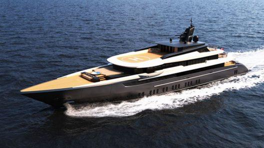 Modern M/Y F60 Concept Yacht By Ferrari Franchi