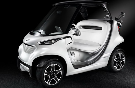 Mercedes-Benz Style Edition Garia Golf Cart