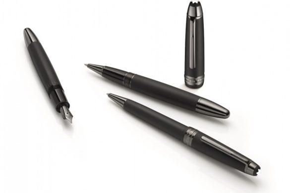 Montblanc's Iconic Meisterstück Pen In Matte Black