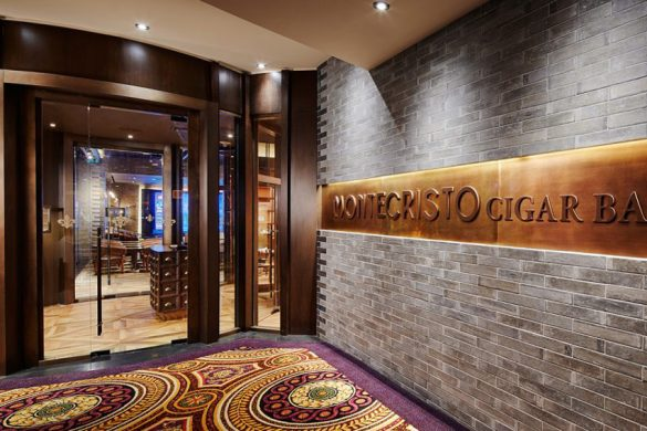 Montecristo Cigar Bar In Las Vegas's Caesars Palace
