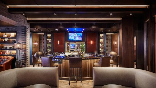 Montecristo Cigar Bar In Las Vegas's Caesars Palace