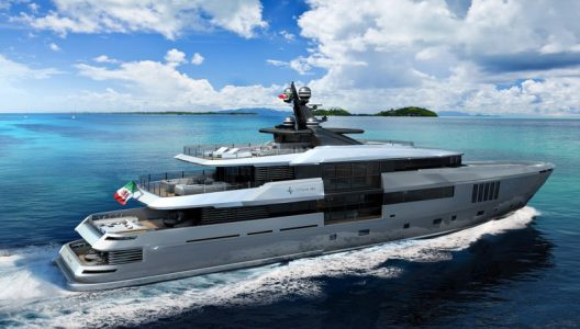 Ouranos – Admiral's First Yacht In Its New C Force 50 Series