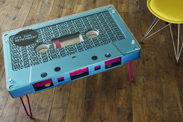 Furniture Inspired by Retro Technology